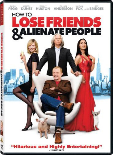How To Lose Friends & Alienate People- DVD cover